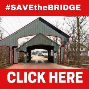 SAVEtheBRIDGE sign CLICK HERE
