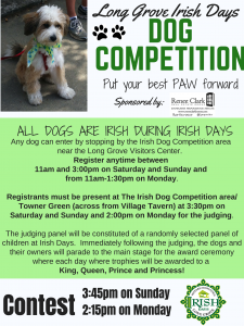 Irish Days Dog Competition