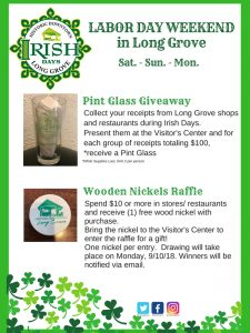Irish Specials for shopping and dining