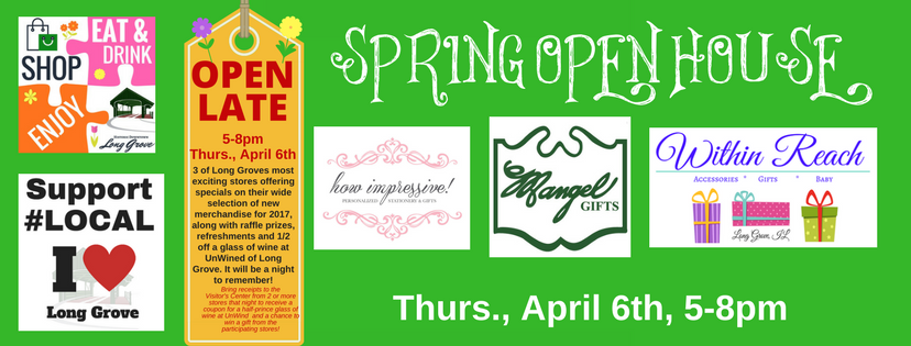 Copy of Spring OPen house